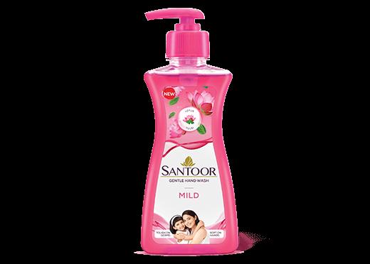 Santoor Mild Handwash Pump